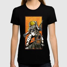Angry Astronaut T-shirt