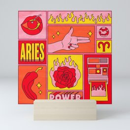 Aries Mini Art Print