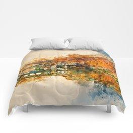 Florence, Ponte Vecchio Comforters