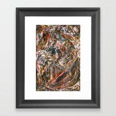 Greying Framed Art Print