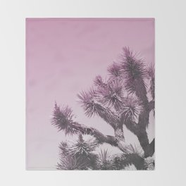 Joshua Tree - Ultraviolet Throw Blanket