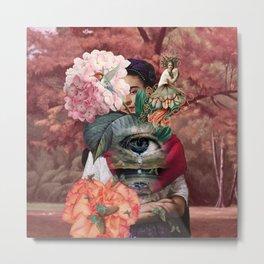 Frida of Coyoacan Metal Print