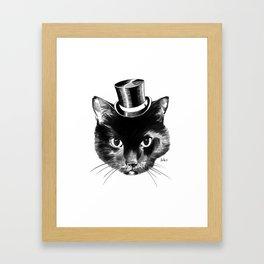 Cat Fancy Framed Art Print