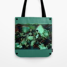 Peep Show Ghouls Tote Bag