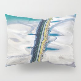 Crossing the sands Pillow Sham
