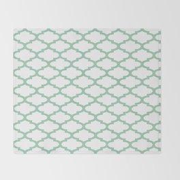 Hemlock Qua Trefoil Throw Blanket