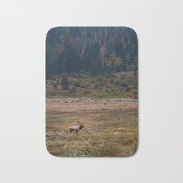 Elk in Rocky Mountain National Park Bath Mat