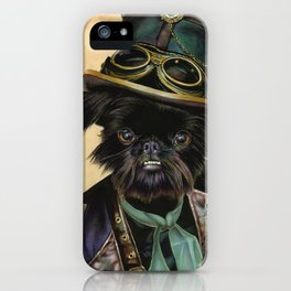 Sir Cornelius Kirby (steampunk) iPhone Case