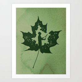 A New Leaf Art Print