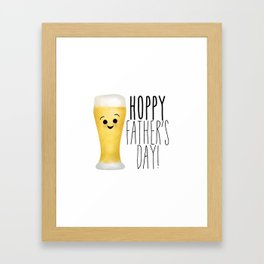 Hoppy Father's Day Framed Art Print