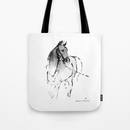 Horse (Lunging) Tote Bag
