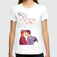 cherry blossoms T-shirts featuring Cherry Blossoms by brightfallenstars