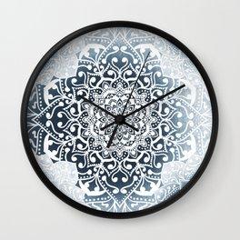 WINTERFIELD MANDALA Wall Clock