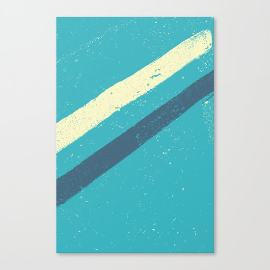 STREET SLANG / Stripes 2 Canvas Print