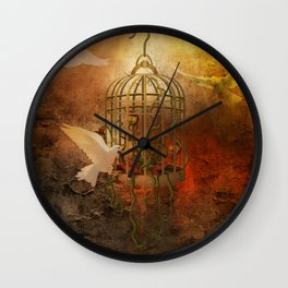 Free Flight Wall Clock
