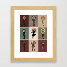 The Saints of Serenity Framed Art Print
