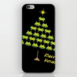Let's invade for Christmas iPhone Skin