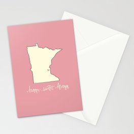 Home, Sweet Home - Twin Cities, MN Stationery Cards