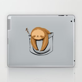 Sloth in a Pocket Laptop & iPad Skin