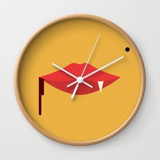 Monroe The Vampire Wall Clock