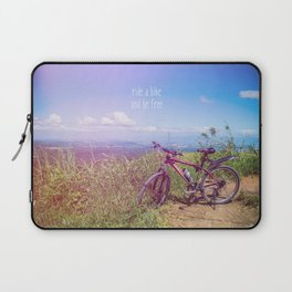 bike = freedom Laptop Sleeve