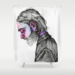 Keaton Henson Shower Curtain