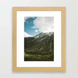 Yosemite National Park V Framed Art Print