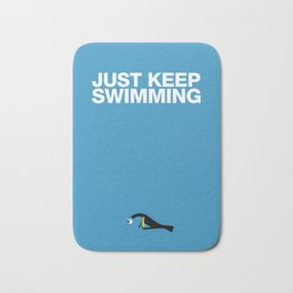 Just Keep Swimming Bath Mat