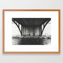 Where It Starts Framed Art Print