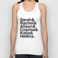 orphan black Tank Tops featuring Orphan Black by Elanor Jarque