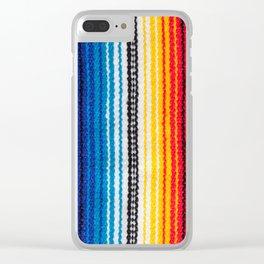 Serape Clear iPhone Case