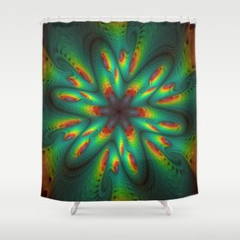 Satiation Shower Curtain