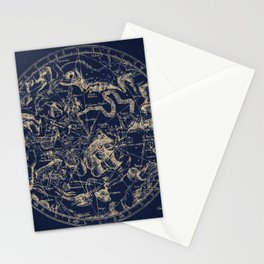 Gold Ceiling | Zodiac Skies Stationery Cards