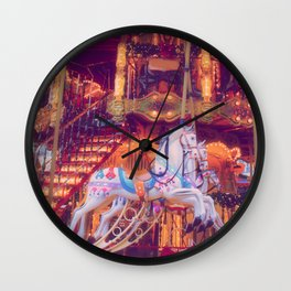 childhood dream Wall Clock