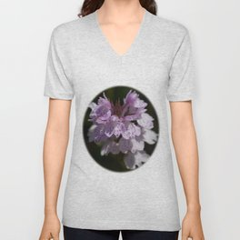 New Forest Marsh Orchid Unisex V-Neck