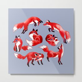 Feeling Foxy Metal Print