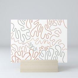 Coral Palette Mini Art Print