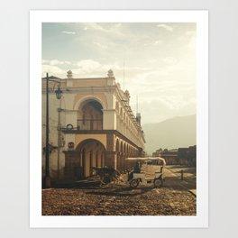 Antigua, Guatema Palace Art Print