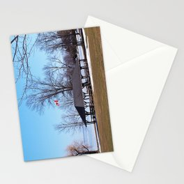 Shelter by the Lake Stationery Cards