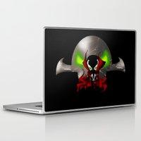 spawn Laptop & iPad Skins featuring Chibi Spawn by artwaste