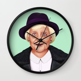 Hipstory -  Angela Merkel Wall Clock