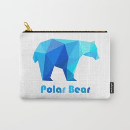 Blue polar bears Carry-All Pouch