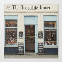 The Chocolate Corner Canvas Print