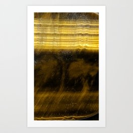 Tiger Eye Art Print
