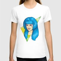 jem T-shirts featuring Aja - Jem and the Holograms by CatAstrophe