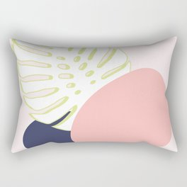 Spring Monstera #society6 #spring Rectangular Pillow