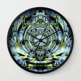 Glacial Sanctum Wall Clock