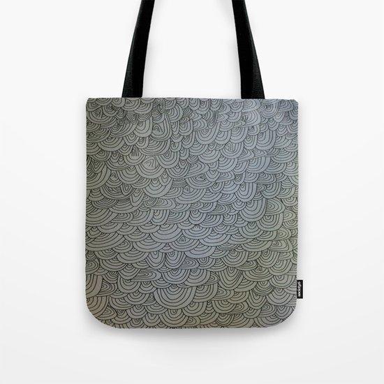 Sea of Lines Tote Bag