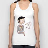 hedwig Tank Tops featuring Magical friends by HypersVE