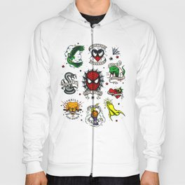 Spidey Tattoo Flash Hoody